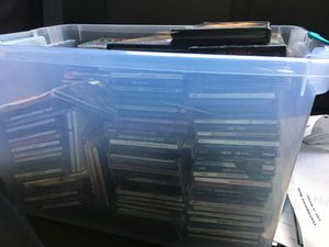 Big box full of cds of various artists for Sale in Merrick, NY