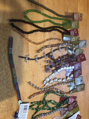 30 Strands of jewelry making beads, 5-10 per strand , selling all for $40 for Sale in Glen Burnie, MD