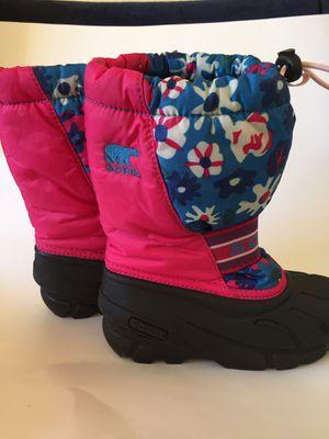 SOREL Flurry waterproof girls'snow boots: Size 13 for Sale in Seattle, WA