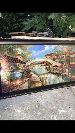 """Beautiful artwork!! ( 53"""" x 29.5"""" ) ready to hang up!!!! for Sale in San Ramon, CA"""