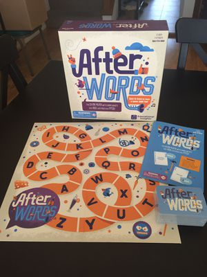 NEW EDUCATIONAL INSIGHTS AFTER WORDS VOCABULARY GAME for Sale in Rolling Hills, CA