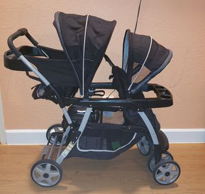 Double stroller / Carriola doble for Sale in Dallas, TX