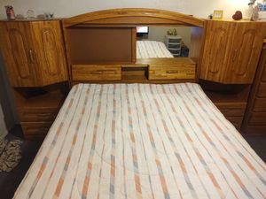 Solid wood bed set for Sale in Tempe, AZ