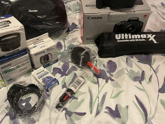 Canon Camera And Accessories for Sale in Broomfield,  CO
