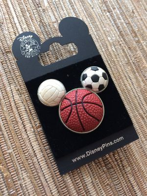 Mickey Basketball Pin for Sale in New York, NY