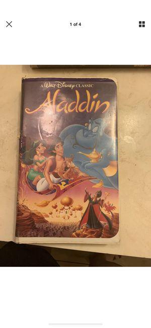 Aladdin vhs black diamond edition for Sale in Hesperia, CA