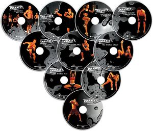 INSANITY Base Kit DVD Workout 10 DVDS for Sale in Los Angeles, CA