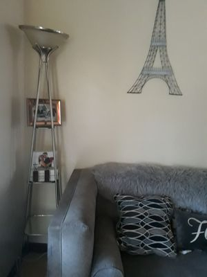 Lamp with 3 mirror shelves for Sale in El Cajon, CA
