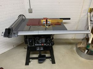 "Porter Cable 10"" 15 Amp Table saw with Incra sled for Sale in Westlake, OH"