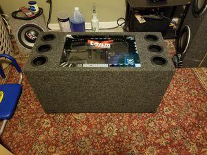 kicker 12 inch 2000 watts for Sale in Adelphi, MD