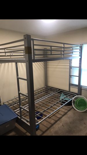 Double size bunk bed for Sale in Englishtown, NJ