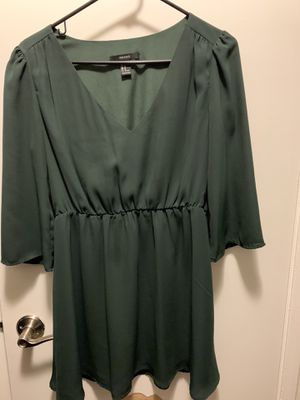 Winter green Forever 21 dress for Sale in Orange, CA