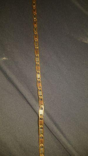 14k gold tri color chain for Sale in San Antonio, TX