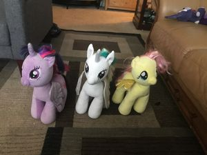 My little pony plushies for Sale in San Jose, CA