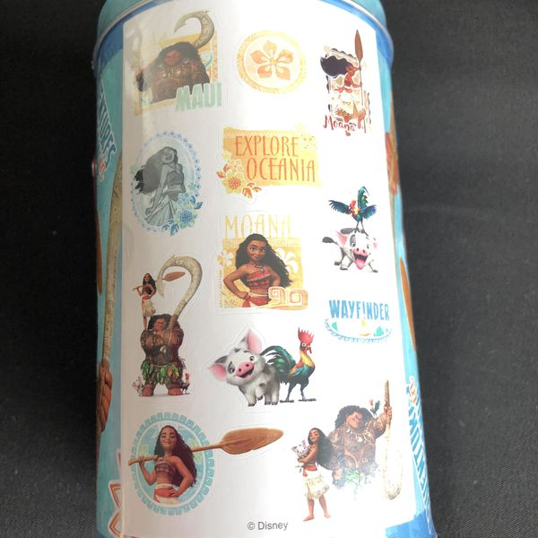 Valentine Mailboxes Moana stickers 2
