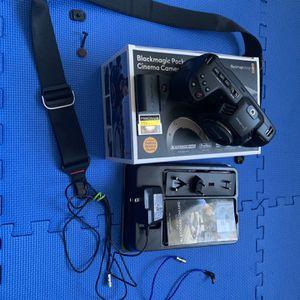 Blackmagic Pocket Cinema Camera 4k with ProGrade 256gb 550 Mb/s CFast 2.0 Card for Sale in Hollywood, FL