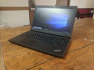 Fast i5 laptop; Lenovo Thinkpad T540p, i5-4200M, 2.49 GHz, 8GB RAM, 500GB HDD, Windows 10 Pro for Sale in Newark, OH