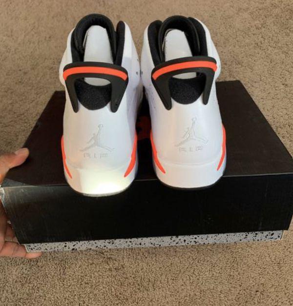 Nike Air Jordan Retro 6 Deadstock white infared size 13