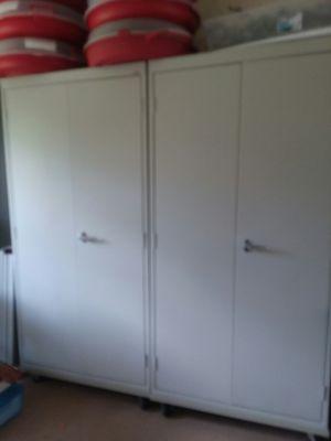 Sandusky Steel Cabinets on wheels for Sale in Palm Bay, FL