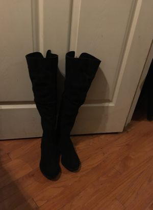 Knee High Black Boots - Ladies Size 6 for Sale in Smyrna, DE