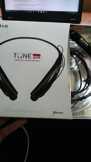 LG Tone Pro Wireless Bluetooth Headset for Sale in Corona, CA