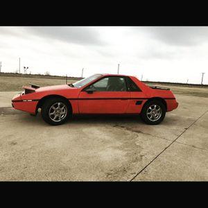 1986 Pontiac fiero 2M4 for Sale in Crowley, TX