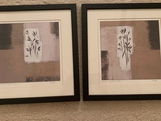 "Scheme of Bamboo I and II, 13""x13"", Framed Art Print by Arden, Ashley for Sale in Bellevue,  WA"