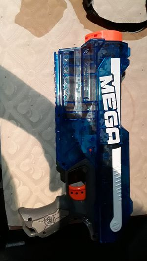 Blue Mega Nerf This is for people that can fix this gun for Sale in Gurnee, IL