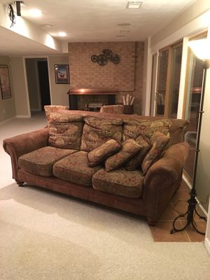 Comfy couch and loveseat for Sale in Rockville, MD