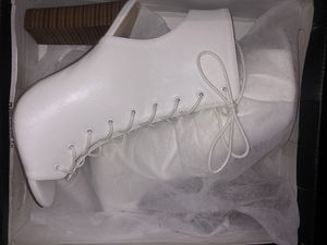 White heel boots for Sale in Jacksonville, FL