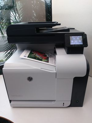 Laser Printer Hp COLOR LaserJet PRO 500 color MFP M570dn/ DUPLEX/NETWORK/ TOUCH SCREEN/ Multifunctional for Sale in Phoenix, AZ