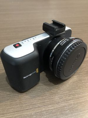 Black Magic Pocket Camera BMPCC for Sale in San Diego, CA
