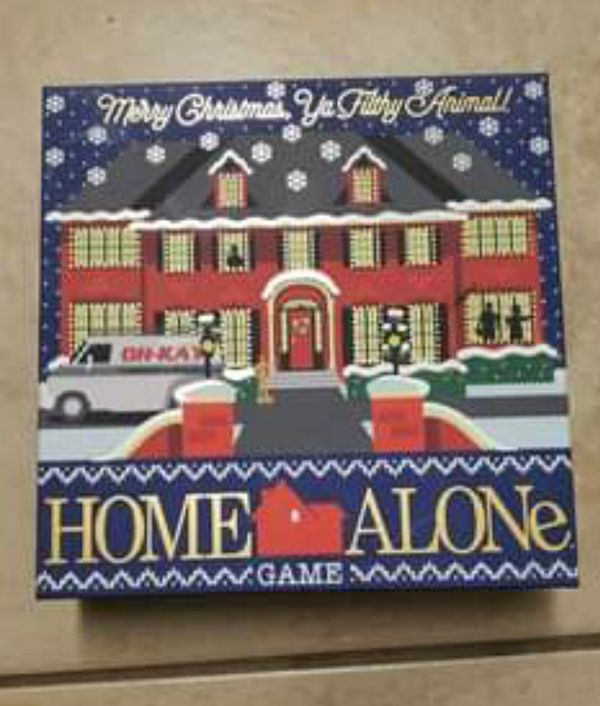 Home Alone Board Card Game Merry Christmas Brand New Sealed