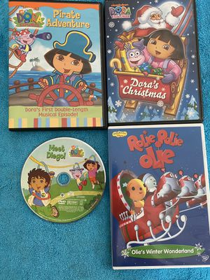 Four children's DVD's for Sale in Yalesville, CT