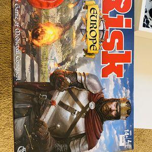 Risk Europe Board Game for Sale in Boston, MA