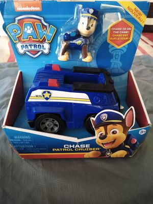 Paw Patrol - Chase - Patrol Cruiser Toy for Sale in San Leandro, CA