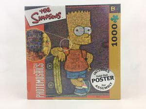 Buffalo Games The Simpsons Photomosaics 1000 Piece Puzzle - Bart for Sale in San Antonio, TX