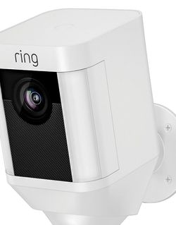 New In Box Ring Spotlight Wire-free Outdoor Camera for Sale in Portland,  OR