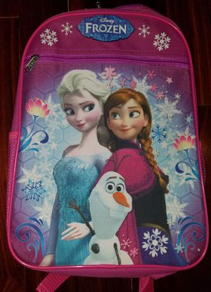 Frozen and Tiana girls backpack for Sale in Mansfield, TX