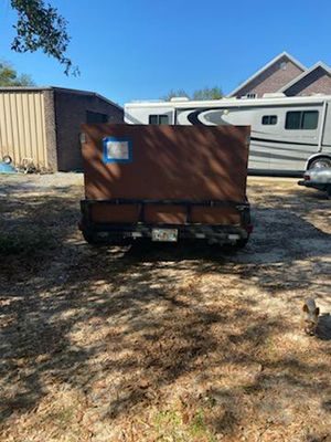 2007 double able utility trailer for Sale in Milton, FL