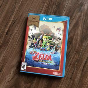 Wii U Zelda the windwalker game for Sale in Chicago, IL