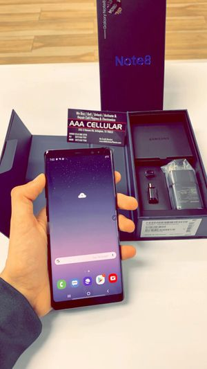 Samsung Galaxy Note 8 64gb Factory Unlocked - Like New! (Cash Deal) for Sale in Arlington, TX