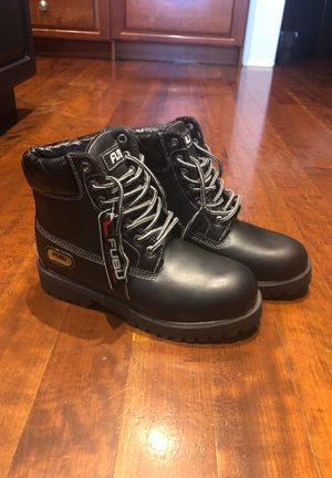 FUBU Men's Black High Top Boots NWT for Sale in Lutz, FL