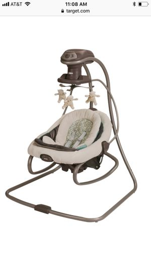 Graco duetsoothe infant swing and rocker for Sale in Seattle, WA