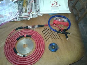 Competition GRADE, pro audio, SHOW CAR QUALITY CABLE AMP KITS for Sale in Queen Creek, AZ