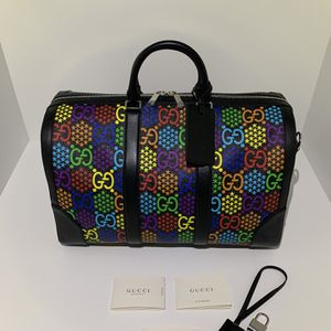 Gucci Psychedelic Leather Duffle Bag for Sale in Miami, FL