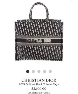 Christian Dior Tote Bag ( Women ) for Sale in Compton, CA