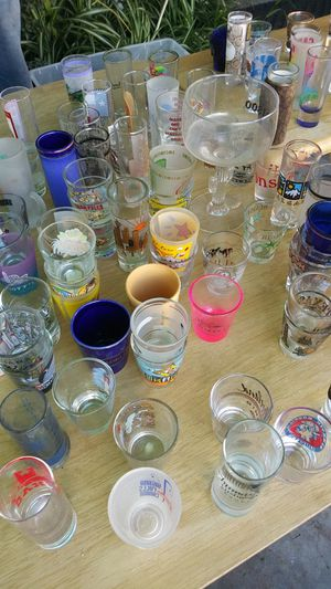 105 shot glasses for Sale in undefined