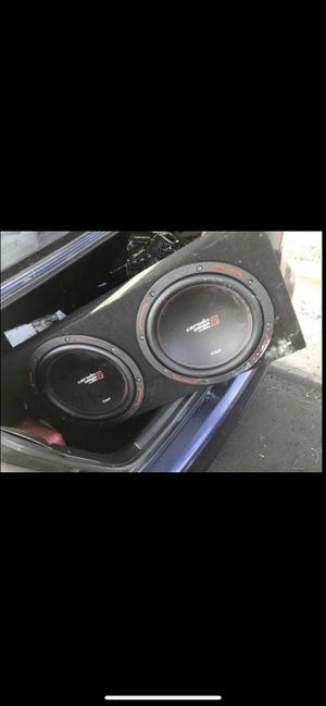 car stereo, stereo, car audio, kicker, subwoofer, amp, car sounds, speaker box for Sale in Los Angeles, CA