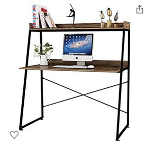 Computer desk with bookshelf for Sale in Sun City, AZ